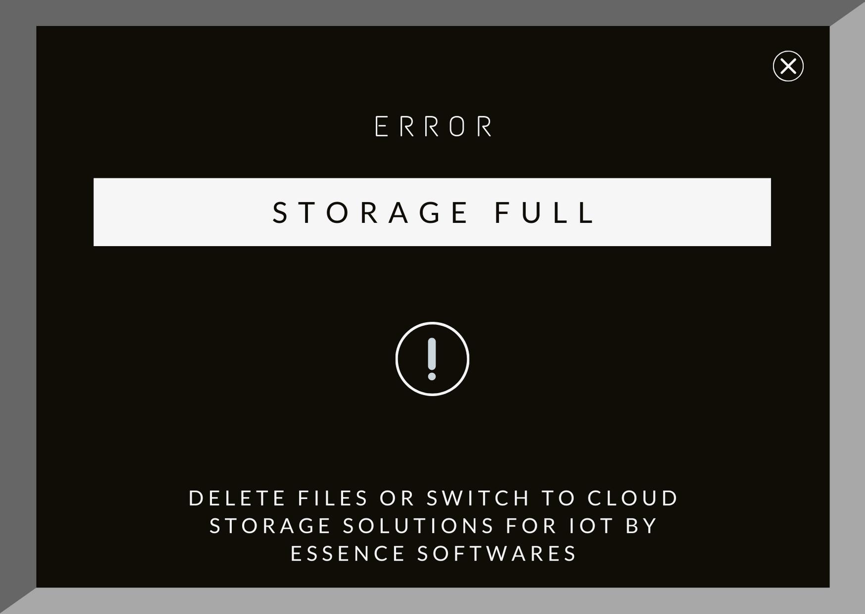 iot data storage